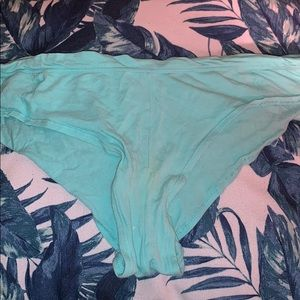 VS Turquoise Cheeky Panties